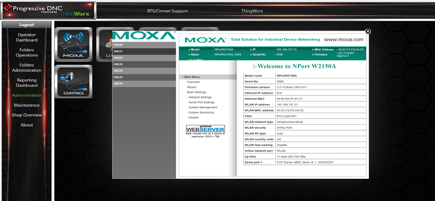 Moxa Config